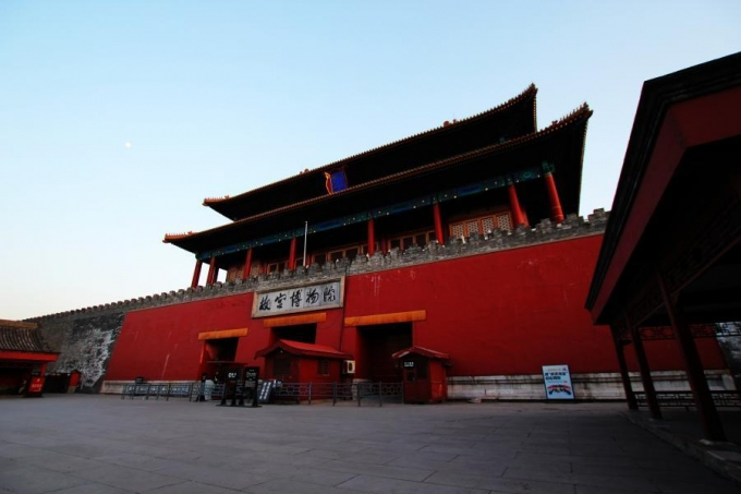 Beijing, the church, palace museum, grand square, theater, Great Wall, and bird nest